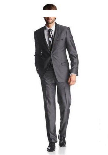 Details zu 2Tlg. Bruno Banani Anzug Set Gr.44 56 NEU Herren Grau Business Sakko Hose L32