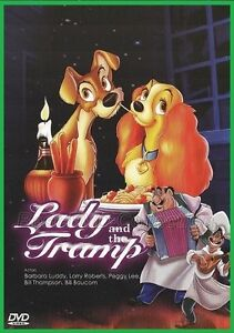 Lady and The Tramp (1955) - Disney - NEW DVD