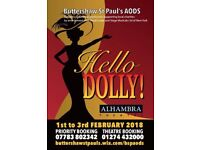 'Hello, Dolly!' Family musical. Buttershaw St Paul's AODs at Bradford Alhambra, Feb 1st-3rd 2018