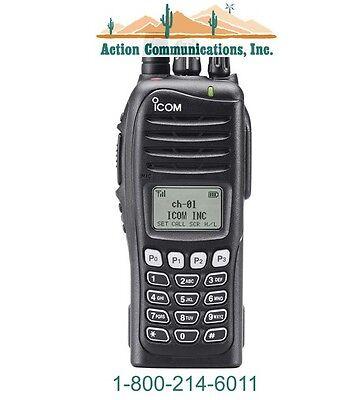 New Icom Ic-f4161t-46 Uhf 450-512 Mhz 5 Watt 512 Channel Two Way Radio