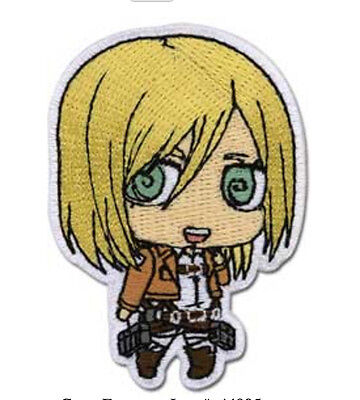 Attack On Titan Christa Sd Iron On Patch 2 1 2  X 1 3 4  Licensed Ge Anime 44995