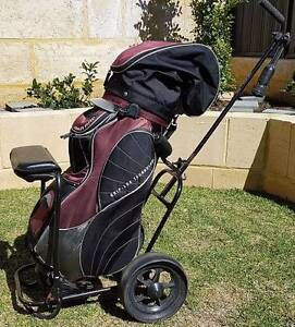 Golf Clubs, Bag and Buggy Jindalee Wanneroo Area Preview