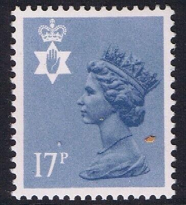 GB QEII Northern Ireland. SG NI43 Grey-Blue Type I PP. Regional Machin.