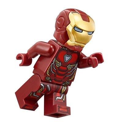 LEGO MARVEL SUPER HEROES INFINITY WAR MINIFIGURE IRON MAN TONY STARK 76108 76107