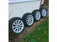 "16"" genuine BMW wheels"
