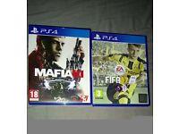 MAFIA 3 and FIFA 17 PS4