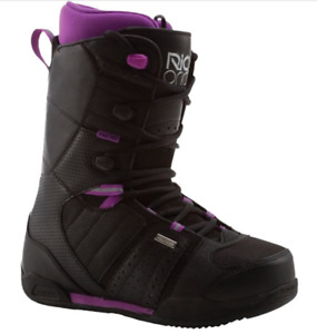 Womens Size 9.5 Ride Snowboard Boots (Black/Purple)