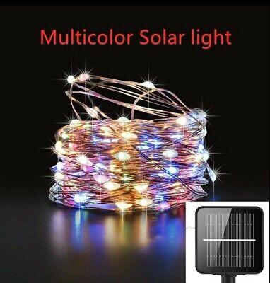 guirnalda led solar, luces navidad, luces solares jardin ,luces leds solar, 21m