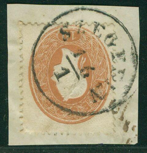 Österreich 1860 Nr. 21 Briefstück SZEGEDIN Ungarn