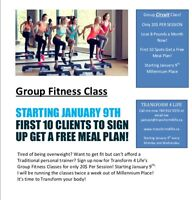 Small Personalized Group Fitness (Circuit) Class