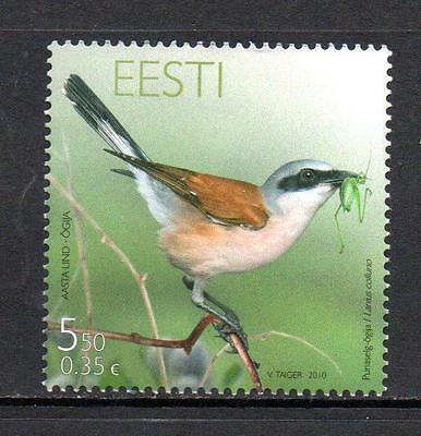 ESTONIA MNH 2010 SG620 SHRIKE