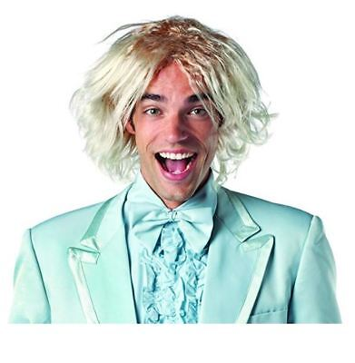 Rasta Imposta Dumb and Dumber Harry Dunne Wig Costume, Blonde, One Size