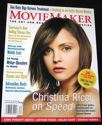 2008 Movie Maker Christina Ricci Bonnie   Clyde  Mint Copy
