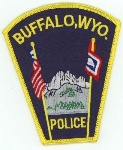 WYOMING WY BUFFALO POLICE NEW PATCH SHERIFF