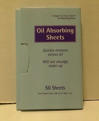 Oil Absorbing Facial Cleansing Wipes 50 Ct (Case of 10)