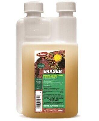 Martin's 82004317 Eraser Weed & Grass Killer, Concentrate, Pint Grass Killer Concentrate