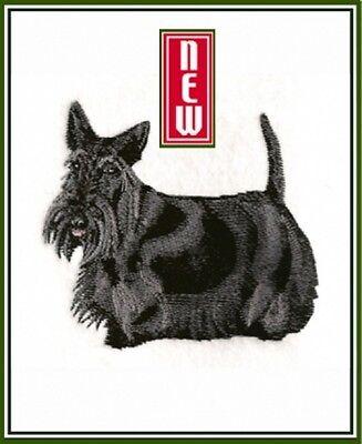 Embroidered Sweatshirt - Scottish Terrier BT7065 Sizes S - XXL