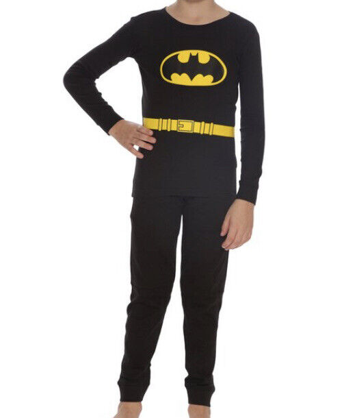 Toddler Batman Black Pajama Set Size 3T