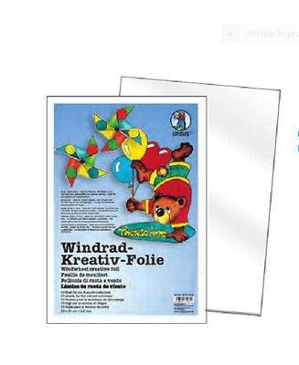 Windrad Kreativ Folie Window Color Mobile Ursus - 10 Blatt - 23cm x 33cm / 0,2mm
