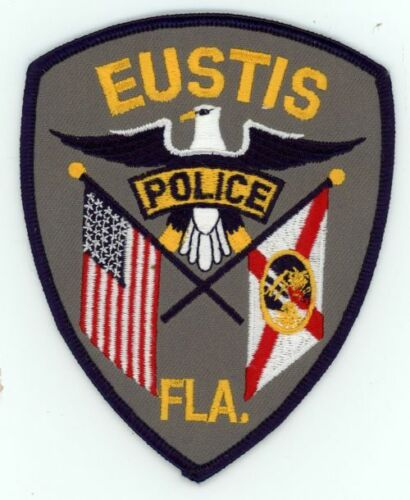 EUSTIS POLICE FLORIDA FL POLICE NICE NEW PATCH COLORFUL SHERIFF