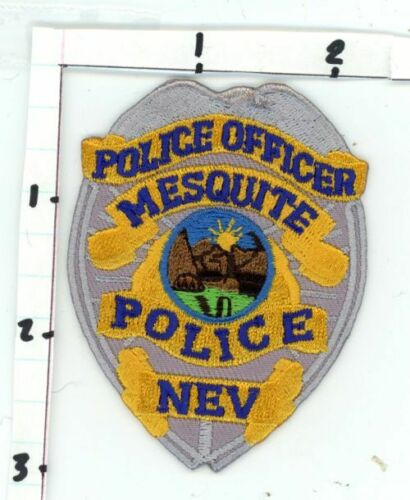 NEVADA NV MESQUITE POLICE OFFICER NEW PATCH POLICE SHERIFF