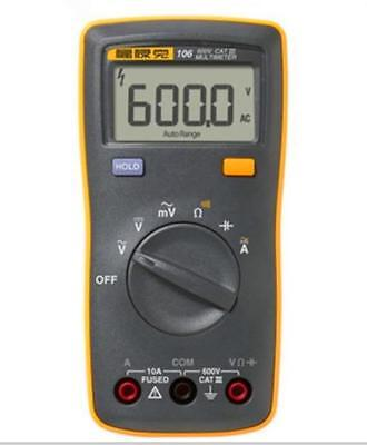Us Ship Fluke 106 F106 Palm-sized Digital Multimeter Meter F15b Smaller Version