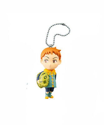 Seven Deadly Sins Anime Mascot Swing Keychain SD Figure Sin of Sloth~King @82445