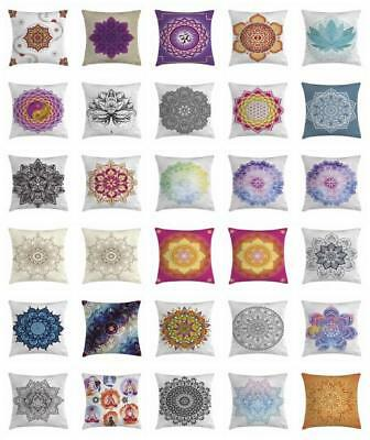 Lotus Flower Throw Pillow Cases Cushion Covers Home Decor 8