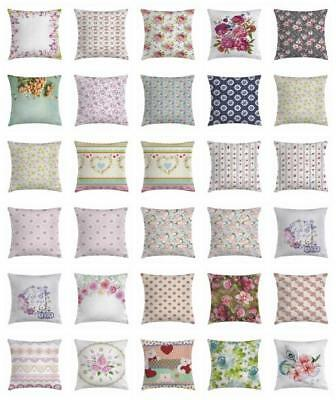 shabby chic throw pillow cases cushion covers