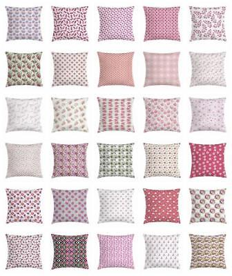 Feminine Pink Throw Pillow Cases Cushion Covers Home Decor 8