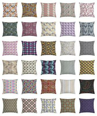 Modern Fabric Throw Pillow Cases Cushion Covers Ambesonne Ho