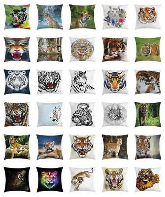 Tiger Throw Pillow Cases Cushion Covers Ambesonne Home Decor