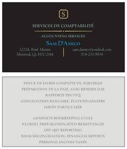 Bookkeeping / Commis comptable