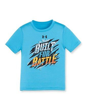 NWT Under Armour Toddler Boys 'Built For Battle' Tee 3T, 2T