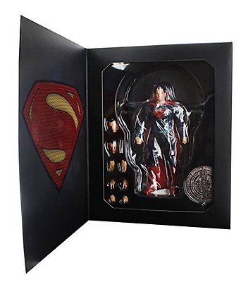Mezco Toyz Dawn of Justice Superman Metropolis Krypton Gotham Action Figure 1:12