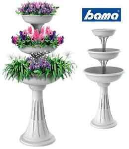 Trevy bama fioriera fioriere vaso vasi in plastica da for Vasi da giardino in plastica