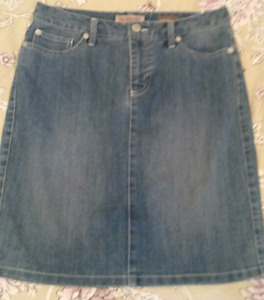 Jean shirt, above knee size 6-8