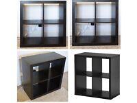 Kallax black/ brown IKEA unit. Brand new