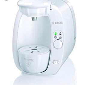 White Bosch Tassimo T20 Home Brewing System