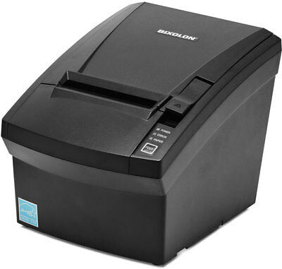 Bixolon Srp-330ii Pos Receipt Printer Ser Usb Eth Black Autocutter Power Supply