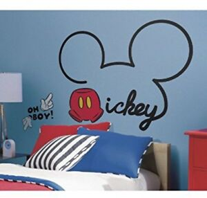 Brand new reusable Mickey Mouse wall decal