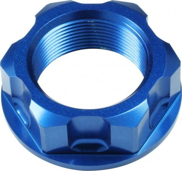 APICO Steering Stem Nut Honda CR85 03-07 CRF150R 07-15 CR125/250 89-00 BLUE