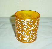Yellow Votive Candle Holders