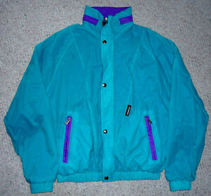Summer/Fall Fleece lined Jacket by K-Way .. Exc Cond ..