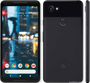Google Pixel 2 XL Just Black, 64GB, Unlocked, New, Warranty