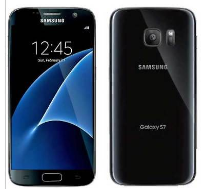 "New Samsung Galaxy S7 G930a AT&T Unlocked 32GB Android Smartphone 5.1"" 12MP Blk"