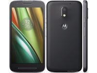 Motorola Moto e3 Android phone New But no charger. Locked to TESCO. Will swap for PS VITA