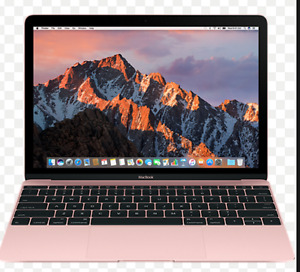 MacBook  12.0 Rose Gold 1.3GHz 8GB 512 GB