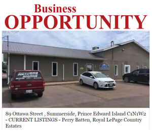 Business Opportunity in Summerside, Prince Edward Island!