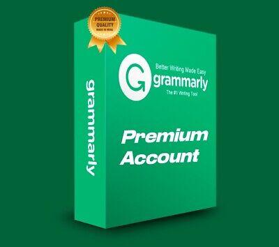 GRAMMARLY-PREMIUM 🌟 PREMIUM ACC0UNT 12 MONTHS WARRANTY| ⚡ FAST-DELIVERY⚡